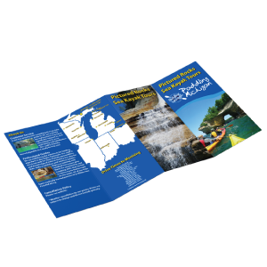4 panel double parallel brochure